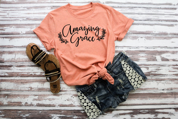 Amazing Grace Adult Tee
