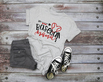 Baseball Mama Adult Graphic Tee