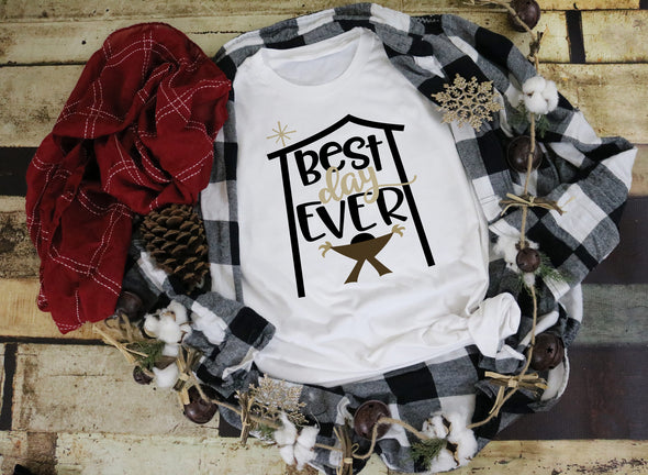 Best Day Ever Christmas Women's Tee