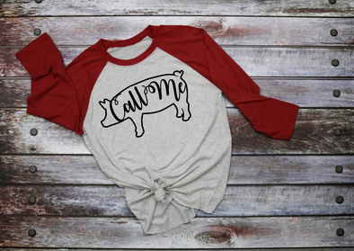 Call Me Women's Raglan