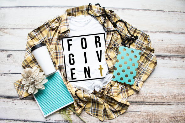 Forgiven Adult Tee