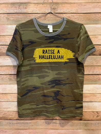 Raise A Hallelujah Youth & Adult Graphic Tee
