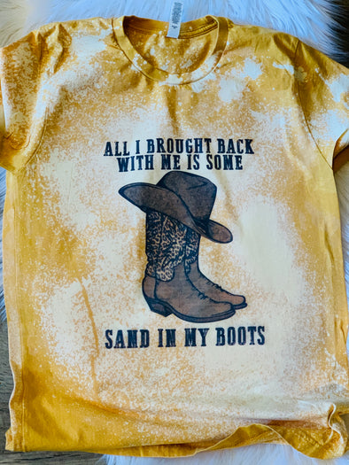 Sand in my Boots Adult Tee