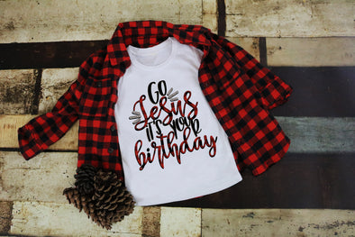 Go Jesus It's Your Birthday Women's Tee