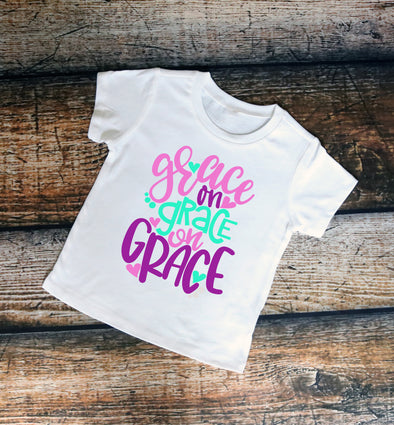 Grace on Grace on Grace Kids Graphic Tee