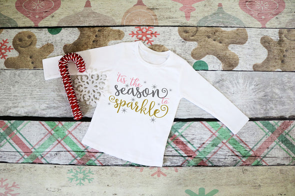 Season to Sparkle Kids Tee