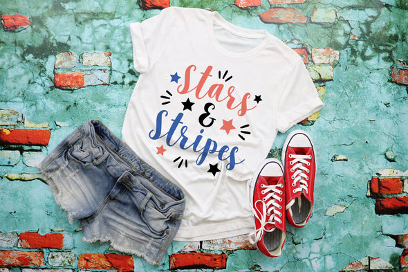 Stars & Stripes Adult Tee