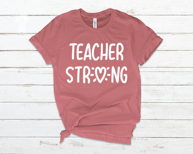 Teacher Strong Adult Tee
