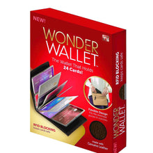 Wonder Wallet - Amazing Slim Thin RFID Security Credit Card Holder Wallet Case for Men and Women AS Seen On TV + Wonder Wallet insert Card Sleeves