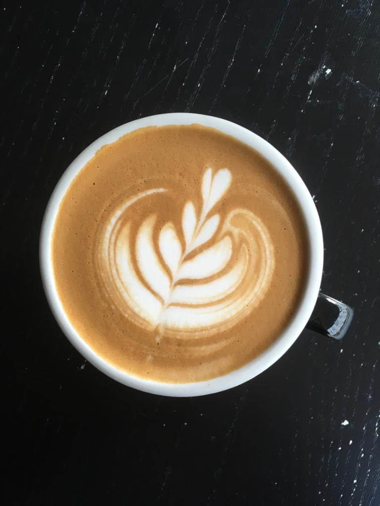 Latte art, acme cups, cappuccino