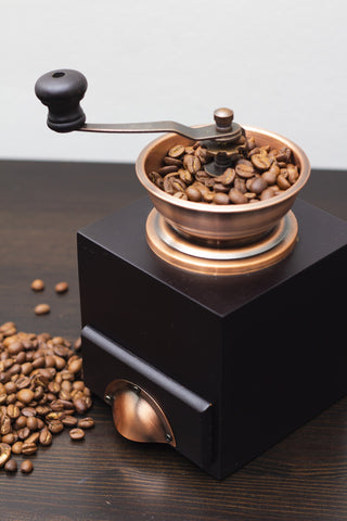 Coffee grinder, freshly ground coffee, grinder