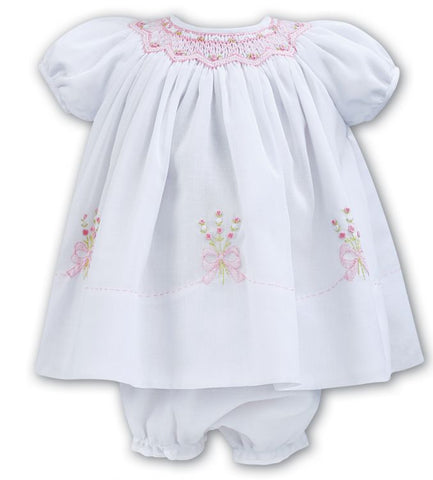 Sarah Louise hand smocked  dress 011050