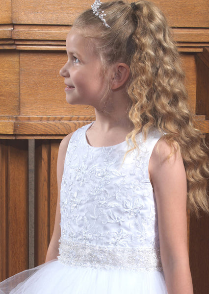 Little White Company Communion dress 28