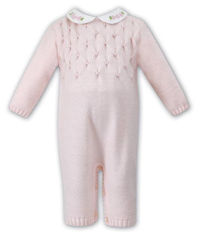 Sarah Louise Knitted pink Knitted all in one