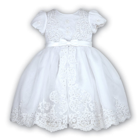 Sarah Louise White Christening dress