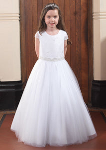 Linzi Jay Communion dress Hatti