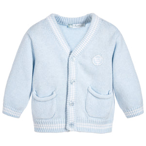 Tutto Piccolo Boys blue knitted cardigan