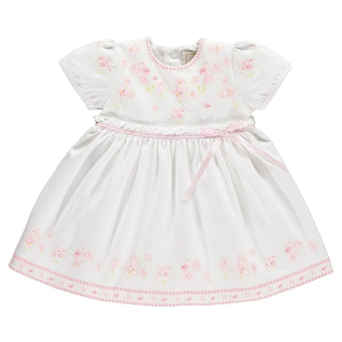 MADDY BABY GIRLS FLORAL PRINT SUMMER DRESS  8346