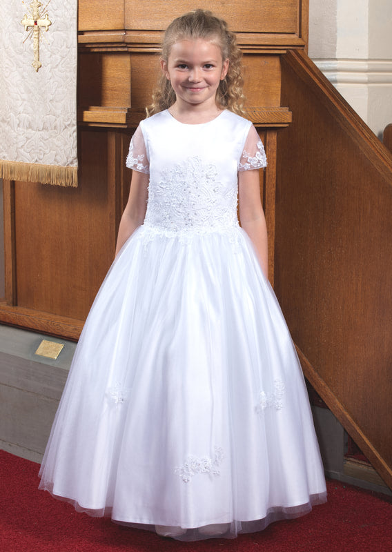 Little white Company Communion dress