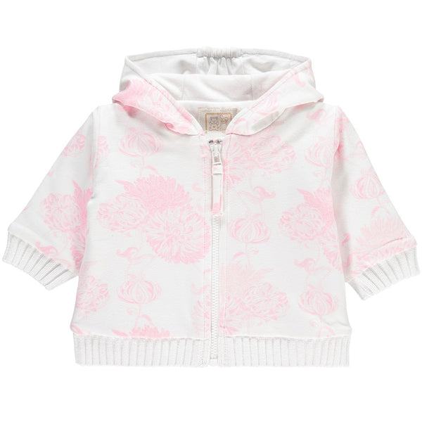Emile et Rose Noreen Floral Printed Zip Up Hoodie & Trouser Set