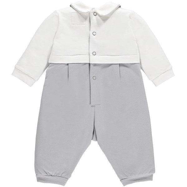 MAX BOYS EMILE ET ROSE NAVY GREY SMART OUTFIT