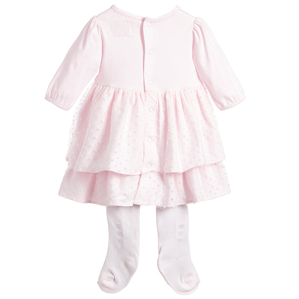 Emile et Rose Lilah Pretty Baby Girls Party Dress with Tights