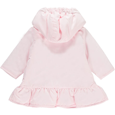NARNIA BABY GIRLS FLORAL DETAIL HOODED JACKET