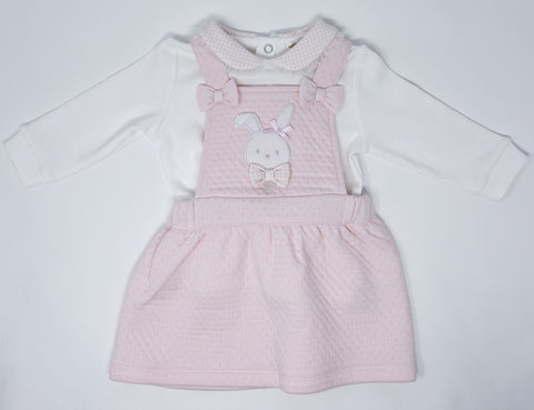 Mintini Girls pinafore and top set.