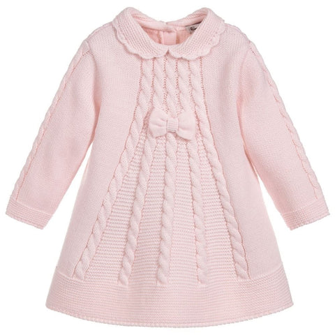 008056 Sarah Louise Pink Knitted dress