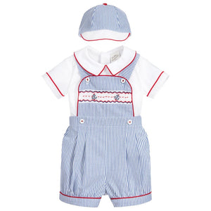 Pretty Originals dungaree shorts set