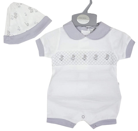 Baby Romper and beanie hat