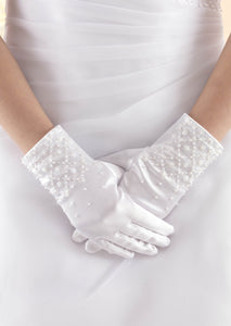Linzi Jay Satin Gloves