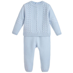 Sarah Louise Boys Knitted Two Piece 008070