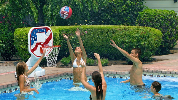Pool Basketball and Volleyball