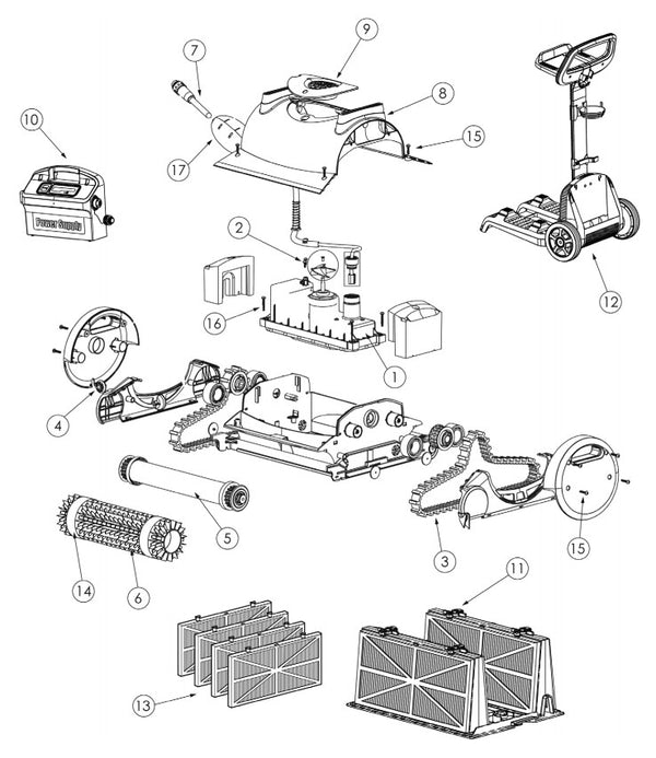 Prowler 820 Parts