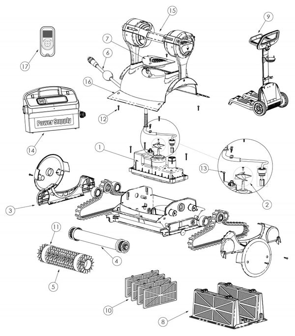 Prowler 830 Parts