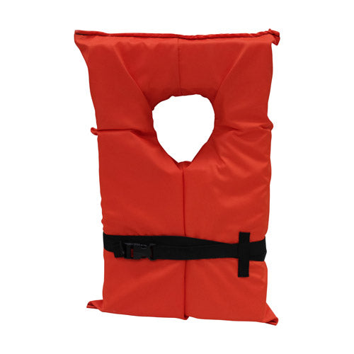 Kemp USA Type II Life Jacket 20-001-ADULT
