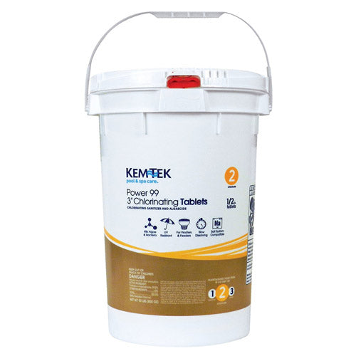 "Kem-Tek 3"" Chlorine Tablets - 50 Pounds"