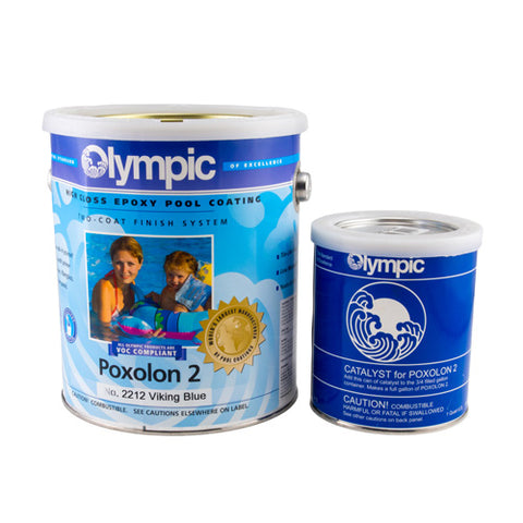 Olympic Poxolon 2 Epoxy Pool Paint