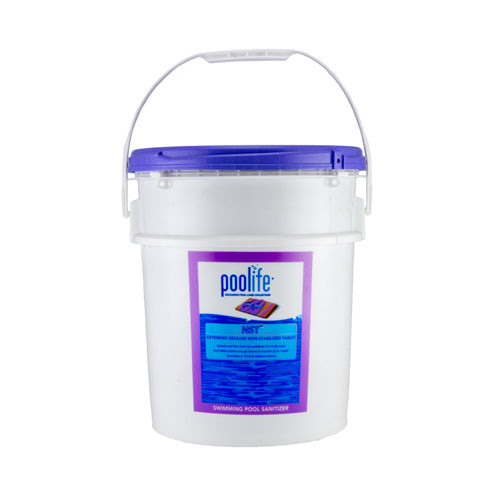 Poolife NST Calcium Hypochlorite Tablets - 44 Pounds