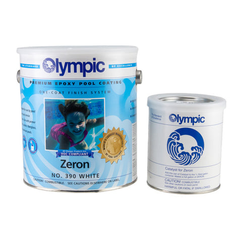 Olympic Zeron Epoxy Pool Paint