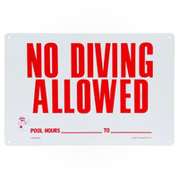Poolmaster No Diving Sign 40342 - Sunplay