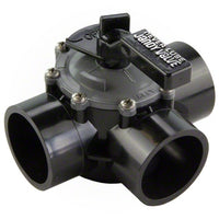 "Jandy 2"" -  2.5"" Never Lube 3-Port Valve 4944 - Internal and External Stops - Sunplay"