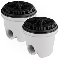 Pentair StarGuard Main Drain Complete 500111 - Black - Two Pack - Sunplay