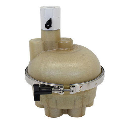 "A&A 5-Port Top Feed T-Valve 1.5"" w/ Quikstop - 540365"