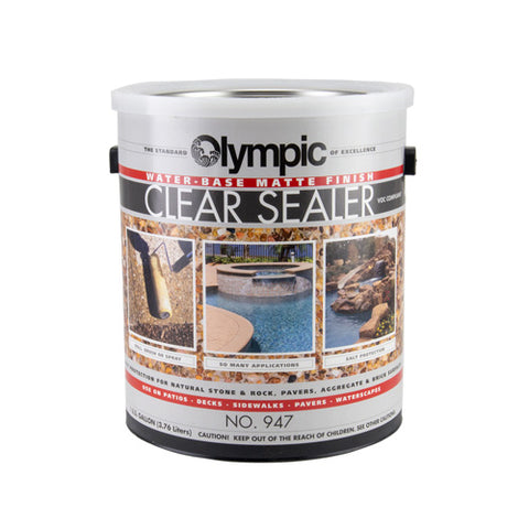 Olympic Clear Concrete Sealer - Matte