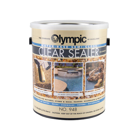 Olympic Clear Concrete Sealer - Semi-Gloss