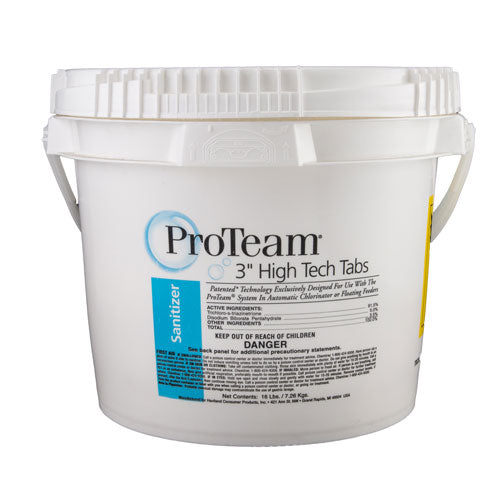 "ProTeam 3"" High Tech Tabs - 16 Pounds"