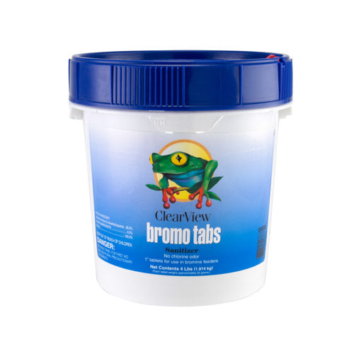 ClearView Bromo Tabs - 4 Pounds