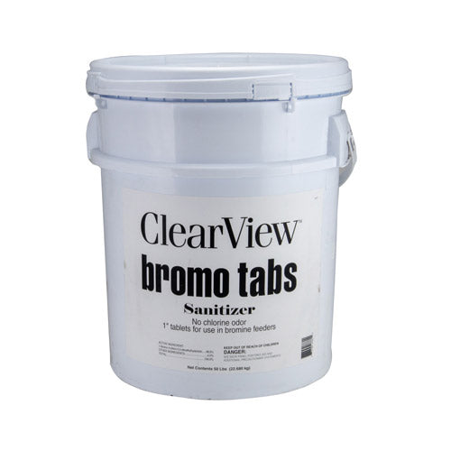 ClearView Bromo Tabs - 50 Pounds